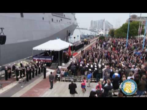 USS John P.  Murtha LPD 26 Commissioning Ceremony
