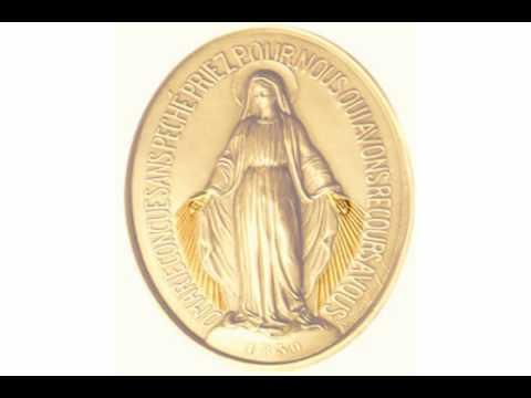 Medalla Milagrosa. ¡Oh María, sin pecado concebida, rogad por nosotros que recurrimos a vos!