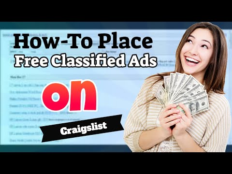 How-To Place a free ad on Craigslist