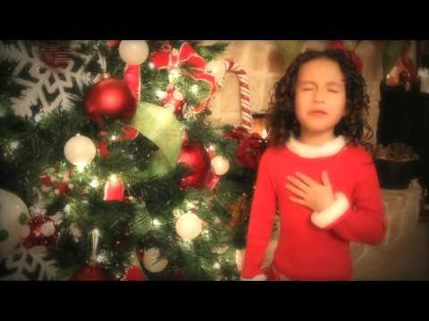 "All I Want For Christmas Is You - 7 Yr Old Rhema Marvanne..Truly Amazing - Plz ""Share"""