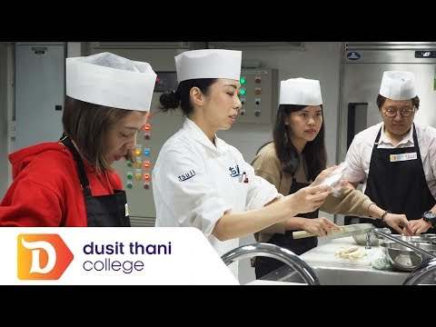 A Journey Into Japanese Cuisine One Day Course @ Dusit Thani College