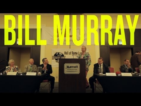 Charleston riverdogs - Bill Murray, the Charleston RiverDogs' co-owner and Director of Fun, was inducted into the South Atlantic League Hall of Fame on Tuesday. As Yankees' general...