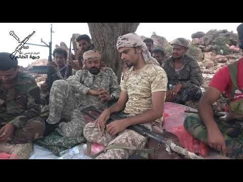 #الضالع : أول تغطية إعلامية من جبهة جبل #صامح وموقع #الدوير الاستراتجي