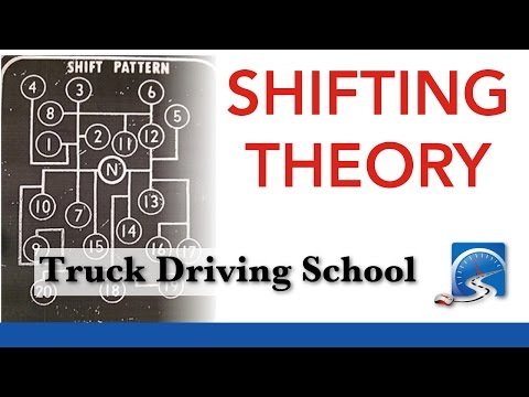 How to Shift a 9, 10, 13, 15 or 18-Speed Transmission   Truck Driving