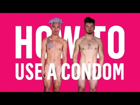 How to use a condom