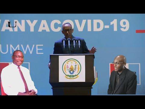Perezida Kagame,  Padiri Nahimana Thomas hamwe na Bikorwa Singirankabo Mu Nama ya FPR - Ikinamico