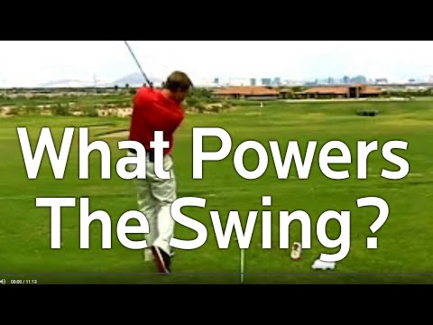 Golf Tips – What Powers the Golf Swing?