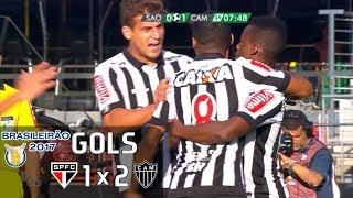 Gols - São Paulo 1 x 2 Atlético-MG - 8ª Rodada Brasileirão 2017 - 18/06/2017Narração: Rogério Corrêa, Comentários: Bob FariaEstádio: Morumbi, São Paulo-SP