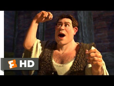 Shrek 2 (2004) - Human Shrek Scene (5/10) | Movieclips