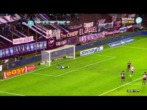 river - https://twitter.com/agustinalcaraz https://twitter.com/riverplateTV Lanus 0 vs River Plate 1. 9° Fecha del Torneo inicial 2013.(1080 Full HD)
