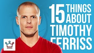 15 Things You Didn't Know About Tim Ferriss  SUBSCRIBE to ALUX: https://www.youtube.com/channel/UCNjPtOCvMrKY5eLwr_-7eUg?sub_confirmation=14 Hour Work Week (Book): http://amzn.to/2teU9KEBooks to Read: https://www.alux.com/question/books-to-read/In this Alux.com video we'll try to answer the following questions:Who is Tim Ferris?Is the 4 Hour Work Week a good book?Is the 4 Hour Work Week still relevant?Is the 4 Hour Work Week possible?How rich is Tim Ferris?How much money did Tim Ferriss make off the 4 hour work week?What is Tim Ferriss' net worth?Is Tim Ferriss single?Is Tim Ferriss married?Does Tim Ferriss have a wife?What is the best Tim Ferriss interview?What is the Best Tim Ferriss Book?Is there a Tim Ferriss documentary?WATCH MORE VIDEOS ON ALUX.COM!Most Expensive Things: https://www.youtube.com/watch?v=Ay0u3dJRZas&list=PLP35LyTOQVIu4tNnitmhUqIjySwUhfOylLuxury Cars: https://www.youtube.com/watch?v=m5GhenZZs1k&index=1&list=PLP35LyTOQVItrVHGzdB9KY-Sbjq4gU-YmBecoming a Billionaire: https://www.youtube.com/watch?v=Skwfwf2SNpw&index=6&list=PLP35LyTOQVIsO8kOTx8-YOgwkGvrPtJ3MWorld's Richest:  https://www.youtube.com/watch?v=rAy_G-1JF74&index=1&list=PLP35LyTOQVIvthSKr0S3JdjWw3qA9foBaInspiring People: https://www.youtube.com/watch?v=lMjO3Gg45pM&list=PLP35LyTOQVItaKCX5o3yaje6_H9D-GuEMTravel the World:https://www.youtube.com/watch?v=-Blsz2JbdgM&t=2s&index=23&list=PLP35LyTOQVIt823Sy_C3-166RLzONbw6WDark Luxury: https://www.youtube.com/watch?v=ch7JWVk8Ldk&index=6&list=PLP35LyTOQVIvQU6lzpW5_lryMmdB6zncUCelebrity Videos: https://www.youtube.com/watch?v=UuhPRVdDli0&list=PLP35LyTOQVIuJuINlyvSU2VvP6pk9zjUkBusinesses & Brands: https://www.youtube.com/watch?v=Xr2YdBz2uWk&list=PLP35LyTOQVIv0fNwEgqmkrDd9d9Nkl7dz-Follow us on INSTAGRAM for amazing visual inspiration:https://www.instagram.com/alux/&Don't miss the latest Luxury News only on Facebook:https://www.facebook.com/ealuxe---Alux.com is the largest community of luxury & fine living enthusiasts in the world. We are the #1 online resource for ranking the most expensive things in the world and frequently refferenced in publications such as Forbes, USAToday, Wikipedia and many more, as the GO-TO destination for luxury content!Our website: https://www.alux.com is the largest social network for people who are passionate about LUXURY! Join today!SUBSCRIBE so you never miss another video: https://goo.gl/KPRQT8--To see how rich is your favorite celebrity go to: https://www.alux.com/networth/--For businesses inquiries we're available at:https://www.alux.com/contact/