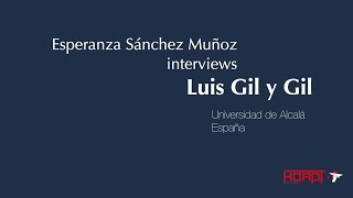 #GTL2019 - Interview with Luis Gil y Gil