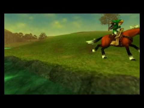 Legend of Zelda: Ocarina of Time 3DS Intro