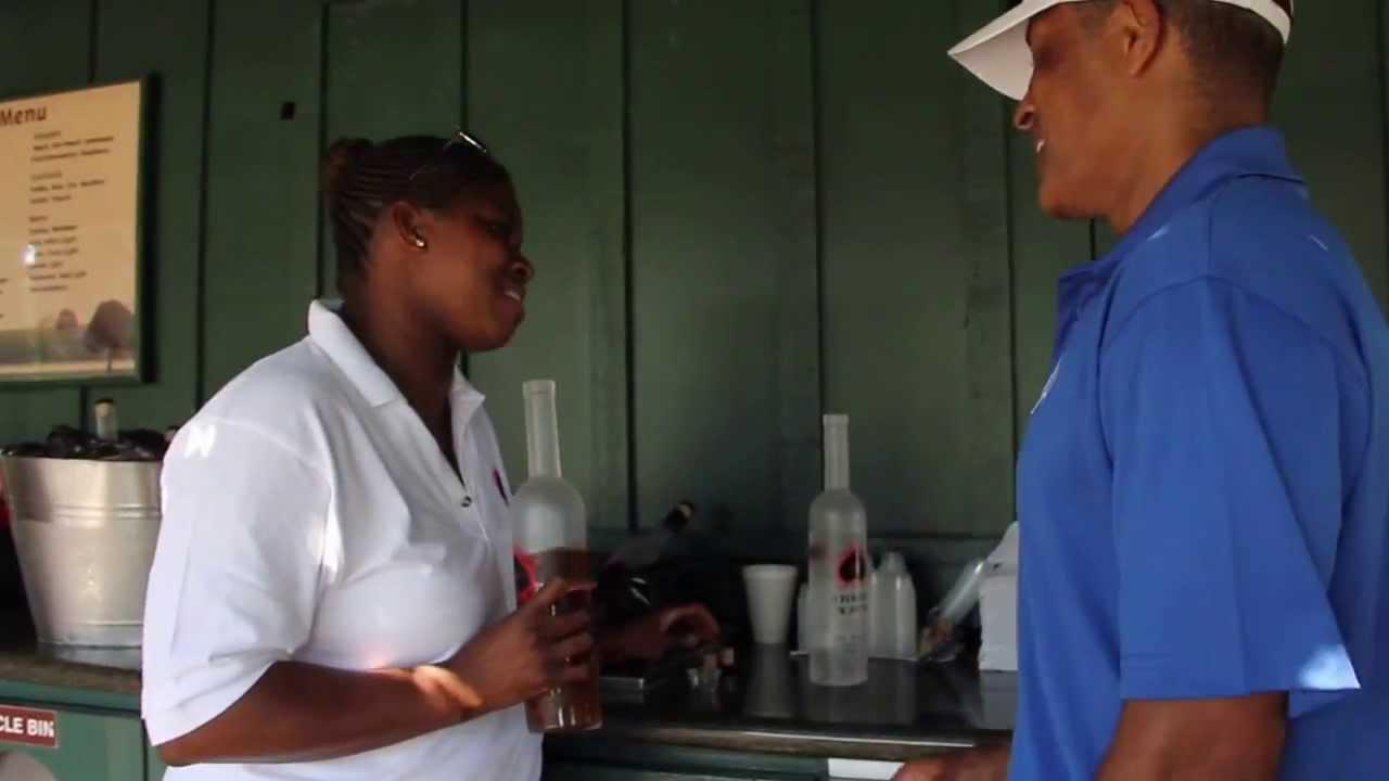 Vanessa Braxton & Phil Morris Tasting Black Momma Vodka