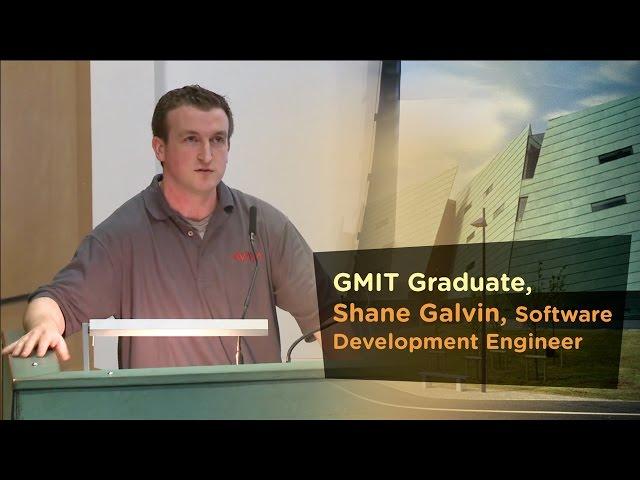 Software Development Graduate, Shane Galvin,
