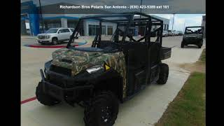 7. 2018 Polaris® Ranger® Crew® XP 1000 EPS Polaris Pursuit®...