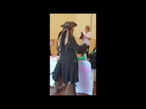 Jack Sparrow Crashes Wedding