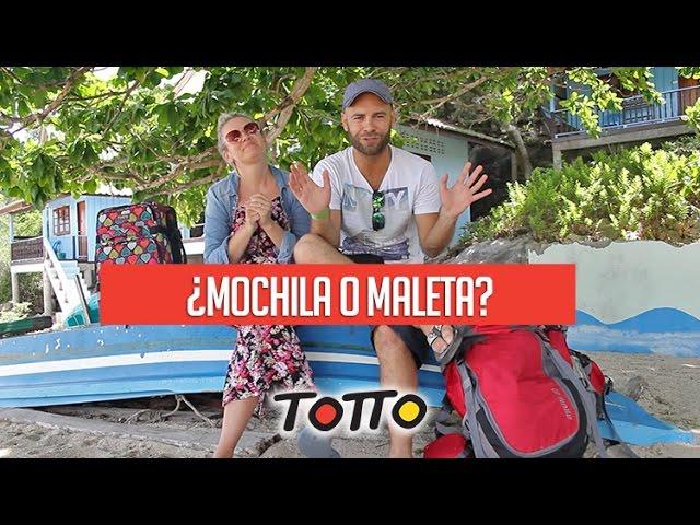 ¿Viajar con MOCHILA o MALETA?  por MolaViajar