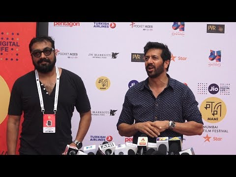 Anurag Kashyap & Kabir Khan At Jio Mami Movie Mela