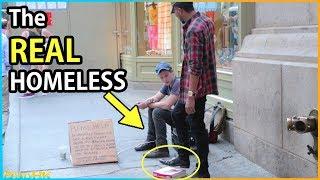 Video The REAL Homeless Experiment (Social Experiment) MP3, 3GP, MP4, WEBM, AVI, FLV April 2018