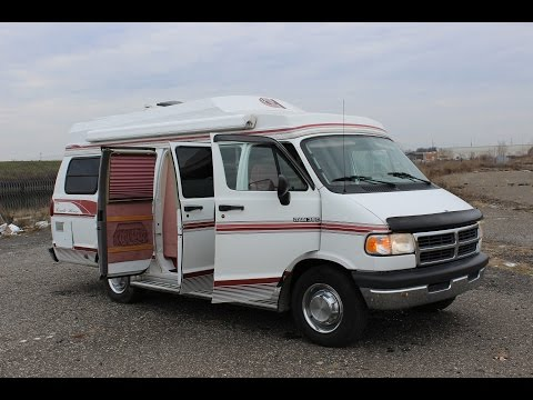 Tour of Dodge Class B RV – Living in a Van