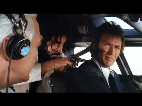 "Dirty Harry ""Excuse me captain, can you fly?"""