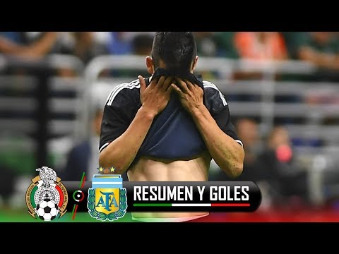 ¡HUMILLANTE DERROTA! MEXICO VS ARGENTINA 0-4 / AMISTOSO 2019 / 10-09-2019