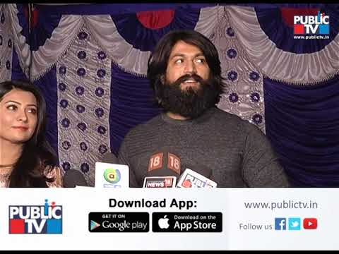 Actor Yash Reacts about his Wife Radhika Pandiths Birthday