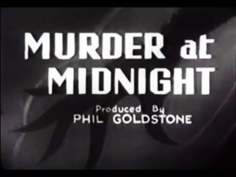 Whodunit Crime Mystery Movie - Murder At Midnight (1931)