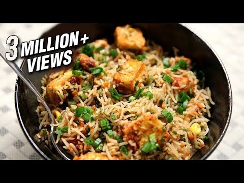 Paneer Fried Rice | Simple & Easy To Make Rice Recipe At Home | Ruchi's Kitchen
