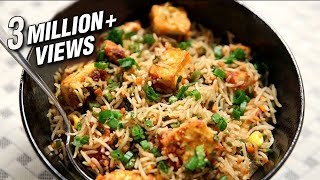 Paneer Fried Rice Recipe | Simple & Easy To Make Rice Recipe At Home | Ruchi's Kitchen