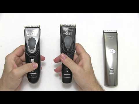Panasonic ER-1611 vs. ER-GP80 vs. Moser Li+ Pro
