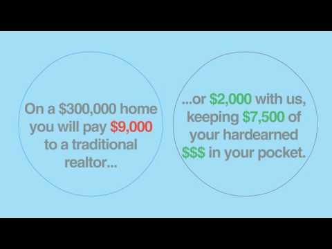 $2,000 Flat Fee Listing Agent ($0 Upfront) | Full Service Realtor