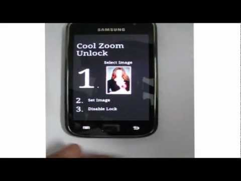 Video of Cool Zoom Unlock Widget