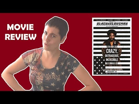 BlacKkKlansman (2018) Movie Review