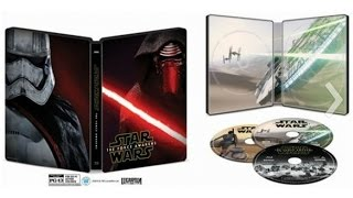 The newest chapter in the Star Wars saga has finally landed in our living rooms - Star Wars The Force Awakens is out on blu ray, with 5 different packaging o...