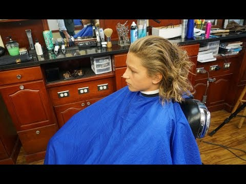 Mens hairstyles - How to Do An Extreme Makeover: Long to Short Men's Cut with Taper