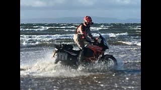 9. KTM1290 Adventure S at the Beach