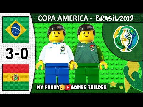 Brazil vs Bolivia 3-0 • Copa America 2019 Brasil (14/06/2019) All Goals Highlights Lego Football