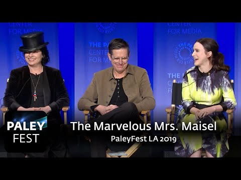 The Marvelous Mrs. Maisel at PaleyFest LA 2019: Full Conversation