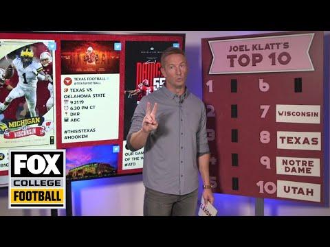 Video: Joel Klatt ranks Ohio State 2A, Alabama 2B | FOX COLLEGE FOOTBALL