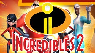 THE INCREDIBLES 2 FULL MOVIE VIDEO GAME ENGLISH Rise Of The Underminer Disney Pixar Mymoviegames