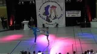 Lisa Stufler & Anton Zinsmeister - Nordbayerische Meisterschaft 2014