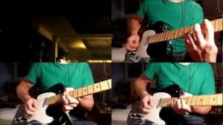 Bullet for my Valentine - Hearts Burst Into Fire (Full HQ Guitar Cover) [HD] with tabs