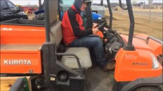 10. 2007 Kubota RTV900 Side by Side For Sale on Online Auction
