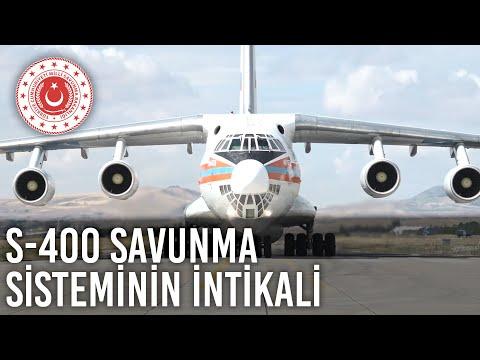S-400 Uzun Menzilli Bölge Hava ve Füze Savunma Sisteminin İntikali