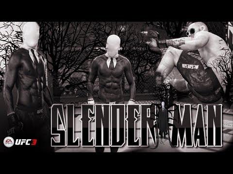 EA Sports UFC 3 - Slender Man (DON