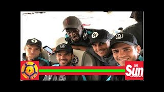 Video Chelsea players alvaro morata, cesc fabregas, pedro and marcos alonso travel to spain in hats that MP3, 3GP, MP4, WEBM, AVI, FLV Oktober 2017