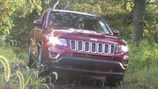 2014 Jeep Compass 4x4 Limited Test Drive&Compact Crossover SUV Video Review