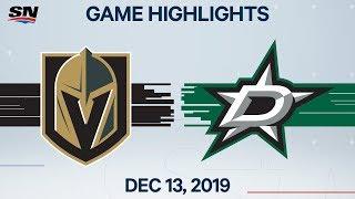 NHL Highlights   Golden Knights vs. Stars - Dec. 13, 2019 by Sportsnet Canada